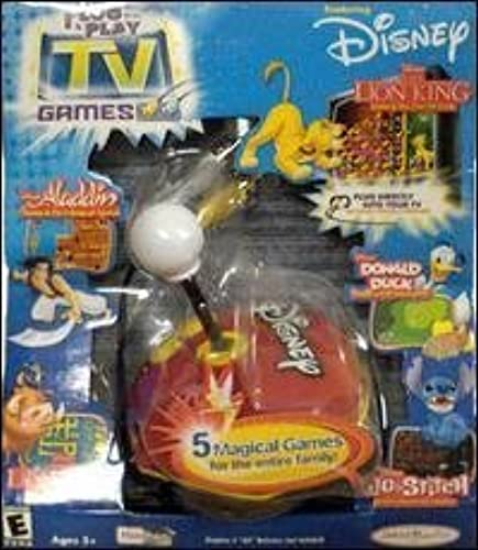Plug 'N Play Disney Joystick with 5-in-1 TV Games by Jakks