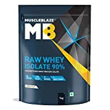 Best Whey Proteins - MuscleBlaze Raw Whey Isolate 90% | Protein 27g Review