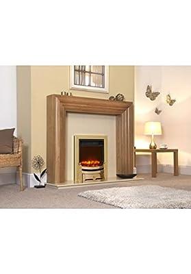 Designer Celsi Fire - Traditional Insert Modern Brass 16''