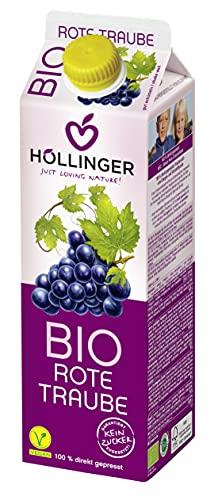Hollinger–Succo Uva rossa bio 1L hollinge