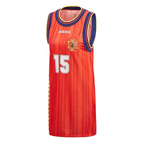 adidas 4059805439320 Shirt, Rojo, 36 Ma Womens