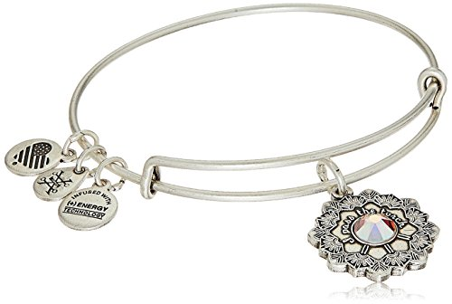 Alex and Ani Mother of The Bride Rafaelian Silver Bangle Bracelet