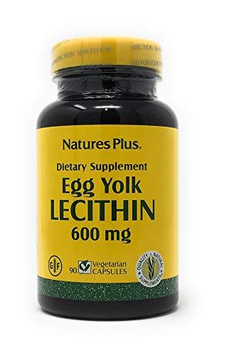 Egg Yolk Lecithin 600 mg (Soja-frei, aus Eigelb) 90 veg. Kaps. N