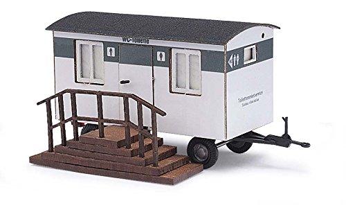 Busch 59937 - Anhänger Toilettenwagen, Fahrzeug