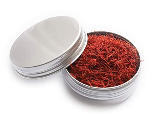 Hymor Safran Safranfäden - 5gramm - Safran in Fäden Saffron Premium Qualität, vegan, glutenfrei, zu Paella, Reis, beim Kochen, als Gewürz