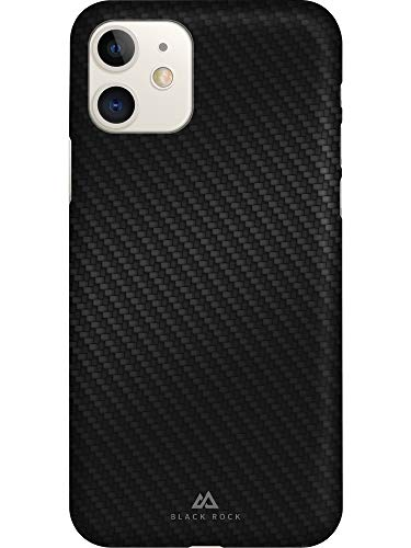Black Rock - Ultra Thin Iced Hülle Hülle für Apple iPhone 11 | Karbon, dünn, schlank, TPU, Fiber Cover (Flex Carbon Schwarz)