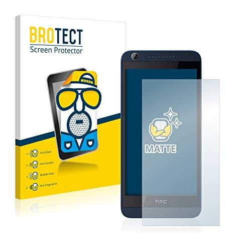 BROTECT 2X Entspiegelungs-Schutzfolie kompatibel mit HTC Desire 626G Dual Bildschirmschutz-Folie Matt, Anti-Reflex, Anti-Fingerprint