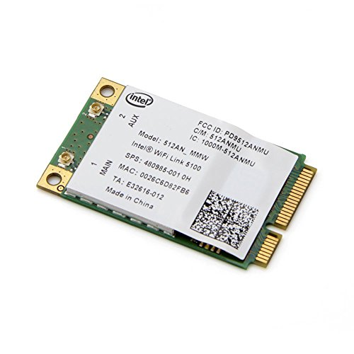 Gotor® Wireless Card for 5100 Wifi Wlan Card 512an_mmw 802.11 AGN 300mbps Mini Pci-e Laptop Wireless Card