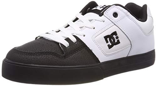 DC Shoes Pure, Zapatillas Skateboard Hombre, Blanco