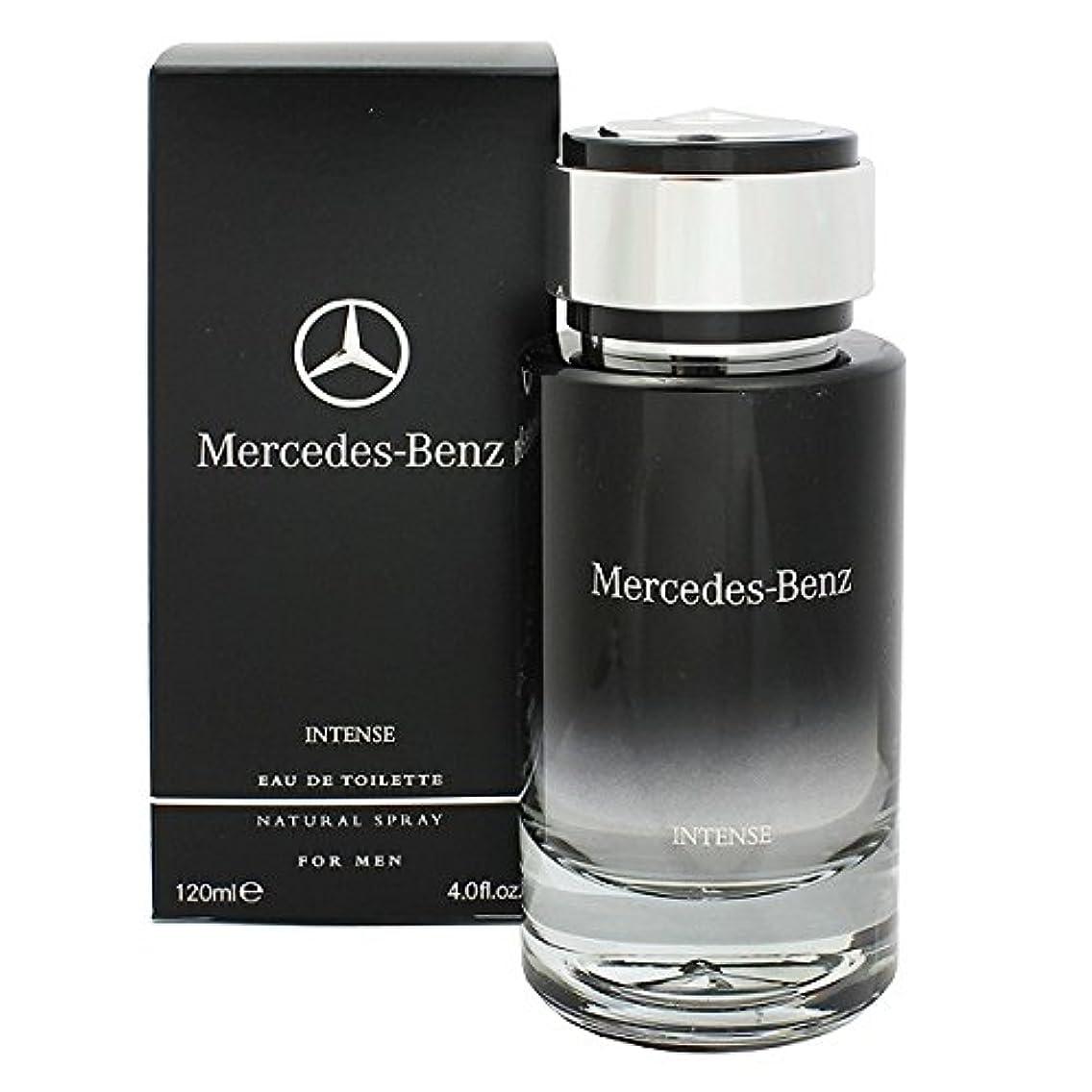 建築家封建鎮痛剤Mercedes-Benz Intense (メルセデス ベンツ インテンス) 4.0 oz (120ml) EDT Spray for Men