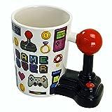 Générique - Tazza con manico joystick Gamer Over, con gioco video