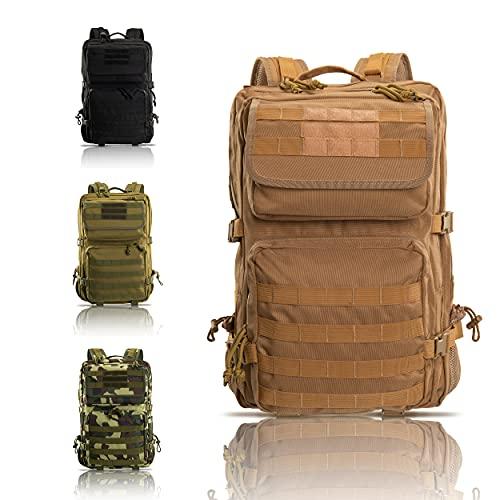 Armybag®   Wasserdichter Outdoor Rucksack Beige - 45 Liter Volumen - Militär...