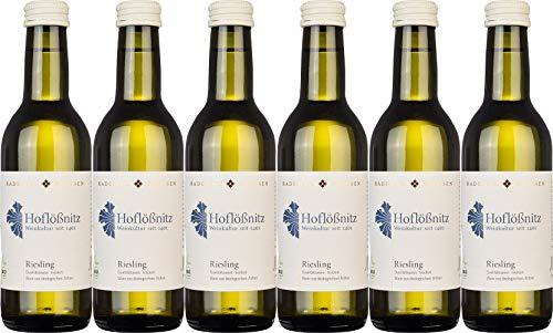 Hoflößnitz Riesling 0,25L 2019 Trocken Ecovin Bio (6 x 0.25 l)