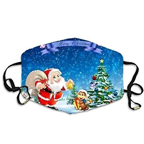 NN/A Erwachsene mit Motiv Weihnachten Weihnachts Mundschutz