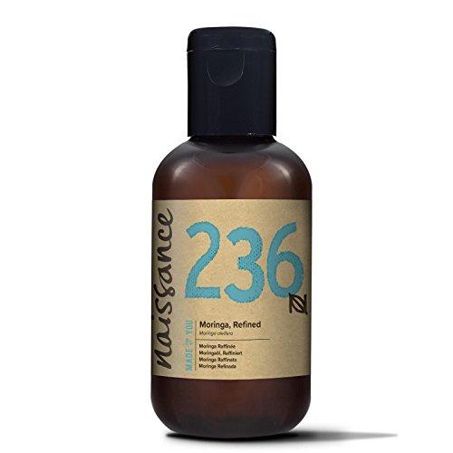 Naissance Aceite Vegetal de Moringa 100ml - 100% puro, refinado, prensado en frío, vegano y no OGM …
