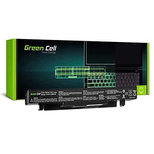 Green Cell® Standard Serie A41-X550A Batería para ASUS X550 X550C X550CA X550CC X550CL X550E X550L X550LN X550V X550VB X550VC X550VL Ordenador (4 Celdas 2200mAh 14.4V Negro)