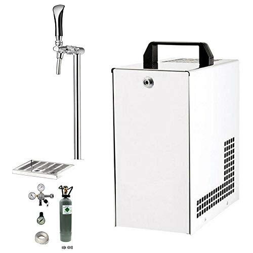Tafelwassergerät Untertisch ohne Kühlung mit Schanksäule SET ohne Wasserfilter
