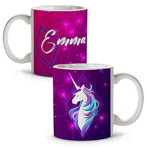 Taza Unicornio Personalizada con Nombre/Texto. Regalos Frikis Personalizados. Tazas Personalizadas de Cerámica....