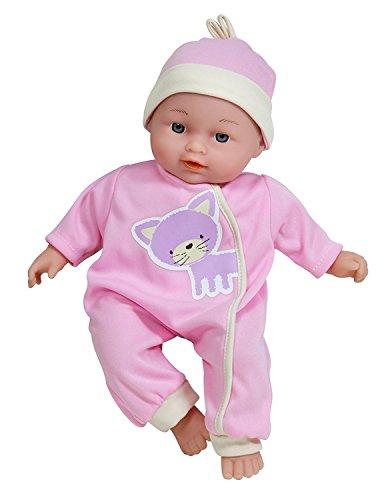 Lissi Dolls Sprechende Baby-Puppe Nina, Farblich sortiert