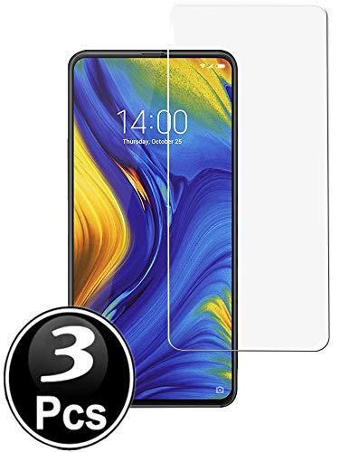 Templated Vidro Temperado Xiaomi Mi Mix 3, [3 Pacote] Filme Protetor de Tela Protetora Filme Protetor de Tela de Vidro Temperado com garantia de Substituição Vitalícia