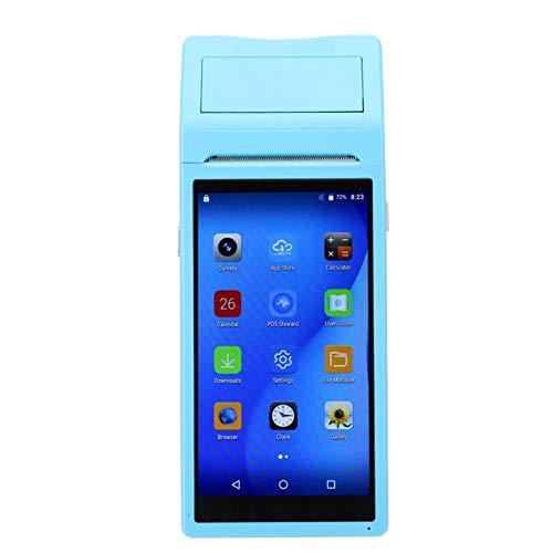 Weikeya Stampante Bluetooth da 58mm, Mini Supporto Wireless Integrato 0,8W per Motorola Supervz per Smartphone Android iOS 3G Quad Core 1 + 4 G 110-240V (Blu)