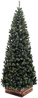 クリスマスツリー240cmスリム濃緑 品質保証高級ツリー