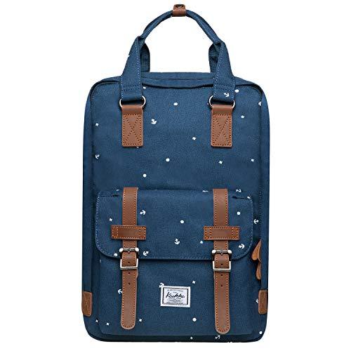 KAUKKO Stylischer Rucksack aus Oxford-Stoff, leicht, zum Wandern