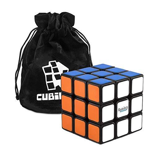 Rubiks 3x3 Speed Cube - Der originale 3x3x3 Rubik Zauberwürfel mit Beutel, der schnellste Speed Cube den Original Rubik's je hergestellt hat