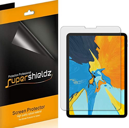 Supershieldz (3 Pack) for Apple iPad Pro 11 inch (2018 Release) Screen Protector, Anti Glare and Anti Fingerprint (Matte) Shield