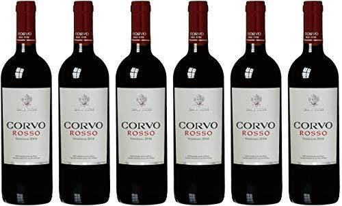 Corvo Corvo Rosso Sicilia IGT trocken (6 x 0.75 l)