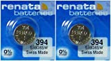 #394 Renata Watch Batteries 2Pcs