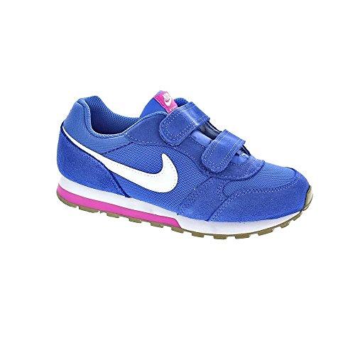 Nike sportswearmd Runner 2 - Sneakers Basse - Comet Blue/White/Fire Pink