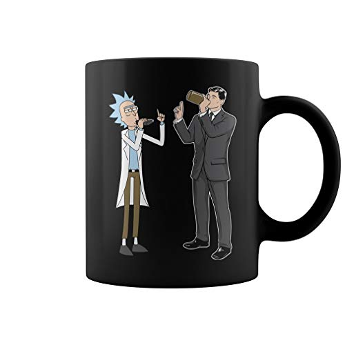 Rick and archer drinking Mug Coffee Mug Gift Coffee Mug 11OZ Coffee Mug