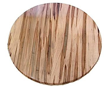 Ambrosia Maple Round Wood Table Top Disc