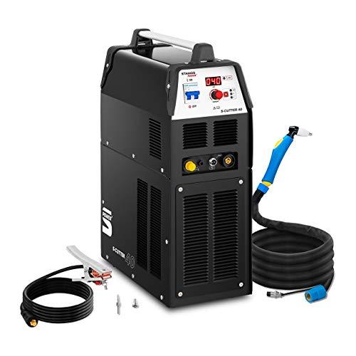 5. Stamos Welding Cortadora de Plasma con Compresor S-CUTTER 40