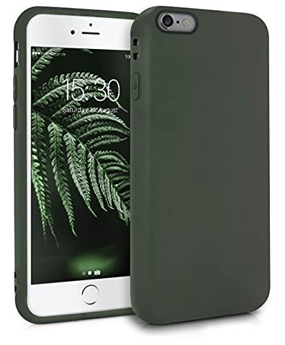 MyGadget Cover per Apple iPhone 6 / 6s - Custodia Protettiva in Silicone Morbido – Case TPU Ultra Flessibile - Protezione Antiurto & AntiGraffio - Verde