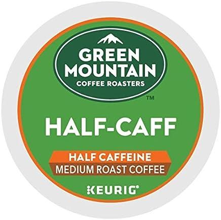 Green Mountain Coffee Roasters Half-Caff, Single Serve Coffee K-Cup Pod, Medium Roast, 24