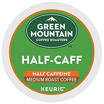 Green Mountain Coffee Half-Caff Single-Serve Keurig K-Cup Pods Medium Roast Coffee 72 Count  3 Boxes of 24 Pods