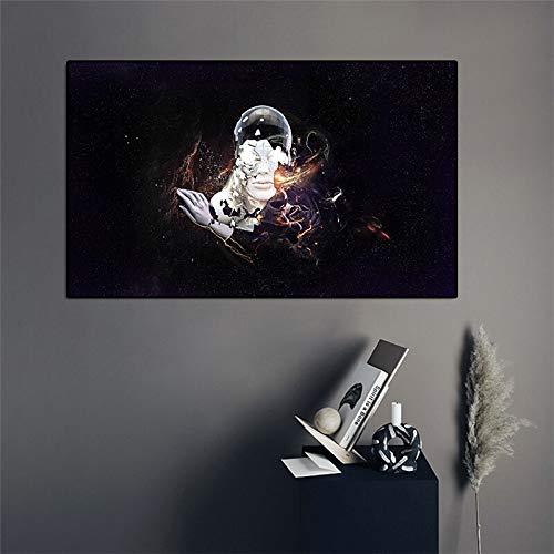 wZUN Toile Peinture Murale Photo Science-Fiction Bras robotique Affiche Murale Affiche Art décoratif Toile Peinture 50x75 cm