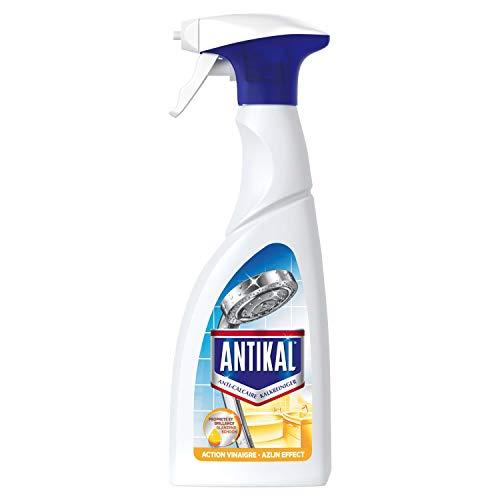 Antikal Spray Anti-calcaire, 2 x 500ml (1000ml) Élimine jusqu'à 100% du calcaire, Vinaigre