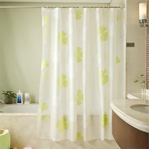 Rideaux de douche Rideau de douche PEVA imperméable à l'eau moisissure Rideau Rideau partition rideaux épaissie salle de bain rideau de douche Rideaux de douche de haute qualité