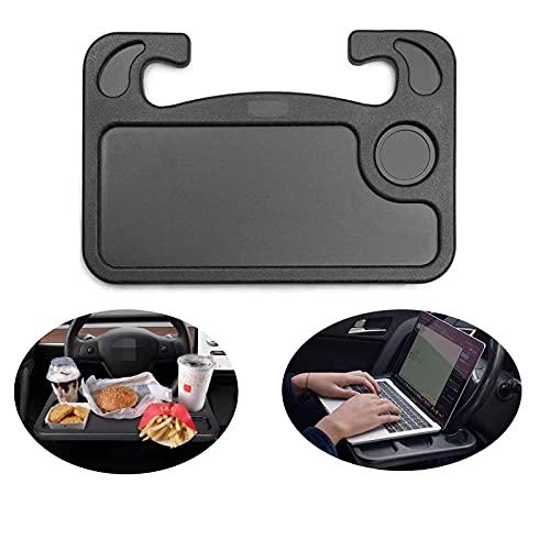 Yokkfine Multi-Functional Portable Car Steering Wheel Desk, Laptop Or Notebook Car Travel Food Table