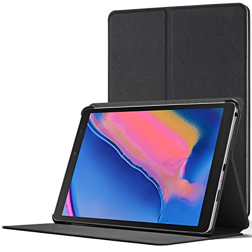 Forefront Cases Cover for Galaxy Tab A 8.0 with S-Pen 2019 - Magnetic Protective Case Cover & Stand for Samsung Galaxy Tab A 8.0 with S Pen 2019 P200/P205 - Slim Lightweight Elegant - Black