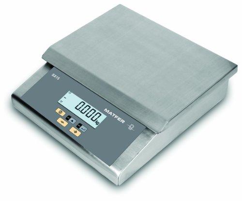 Balance SX15 compacte professionnelle tout inox