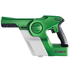 Patented electrostatic charge penetrates chemical providing a thin even spray pattern on all surfaces Cordless convenience allows for effortless movement room to room 3-in-1 nozzle lets you set the spray particle size to match your application Coats ...