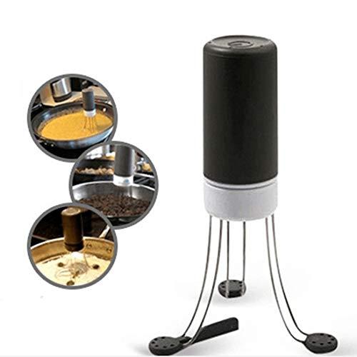 JIAMIN Agitatore Automatico per Pentole, Agitatore Automatico da Cucina Portatile a 3 velocità per Cucinare, Agitatore Automatico per Pentole per Mescolare Yogurt, Salsa e Zuppa nella Padella