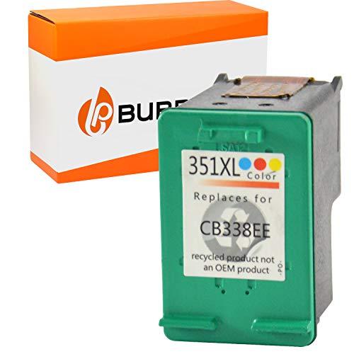 Bubprint Druckerpatrone kompatibel für HP 351 XL 351XL für Deskjet D4260 D4360 Officejet J5730 J5780 J5785 J6400 Photosmart C4200 C4280 C4380 Farbe