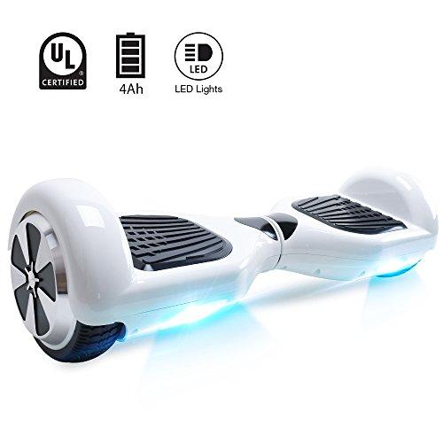 BEBK Hoverboard 6.5' Smart Self Balance Scooter Autobilanciato Skateboard...