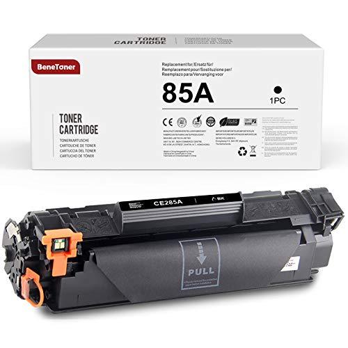 BeneToner 85A CE285A - Tóner compatible con HP 85A CE285A para HP Laserjet Pro P1102W P1102 P1100 P1005 P1109W P1108 P1106 P1006 M1212nf M1210 M1217nfw 1132 M1130 M1213nf Canon LBP6000 LBP3010.