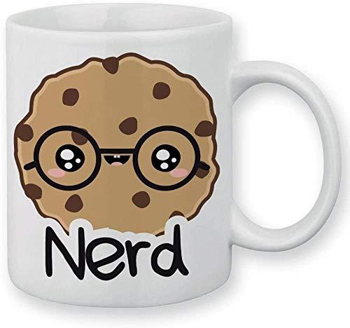 Taza nerd freak gafas Chibi y Kawaii-(301-400ml)